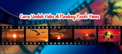 cara unduh video di pixabay