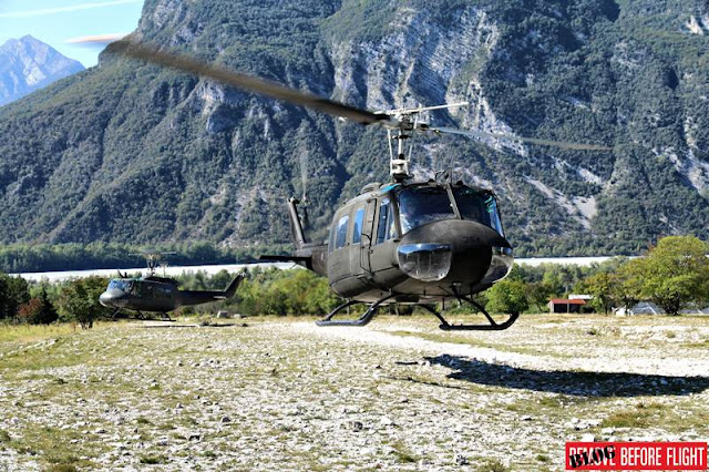 Italian Army 5th Rigel Regiment says goodbye to venerable AB-205 helicopter