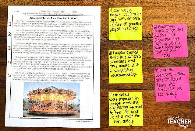 Help your students increase their reading comprehension by using summary sentences. This reading strategy helps students break down reading passages so that they can fully understand a text. Grab some Free Reading Passages with Text Dependent Questions while you read the post.