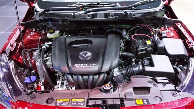 Động cơ Skyactiv-G 1.3L trang bị trên Mazda 2 2015 thế hệ mới