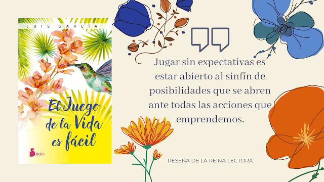 Libro El juego de la vida es fácil Luis García