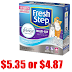 14 Pounds Fresh Step Multi-Cat Clumping Cat Litter $5.35 + Free Shipping or $4.87 With 5 Amazon Subscribe & Save Discounts of $5.07 with Free Pickup at Walmart