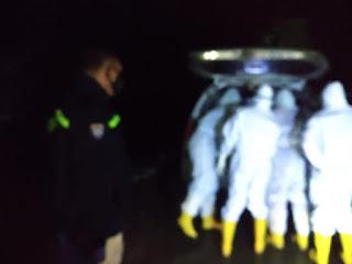 Positif Covid, Personil Polres Pangkep amankan Pelaksanaan Pemakaman Jenazah