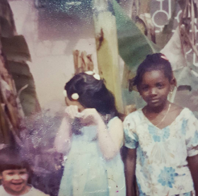 Check Out Adorable Throwback Photo of Annie Idibia