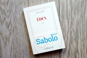 Lundi Librairie : Eden - Monica Sabolo