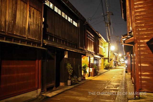Higashi Chaya night