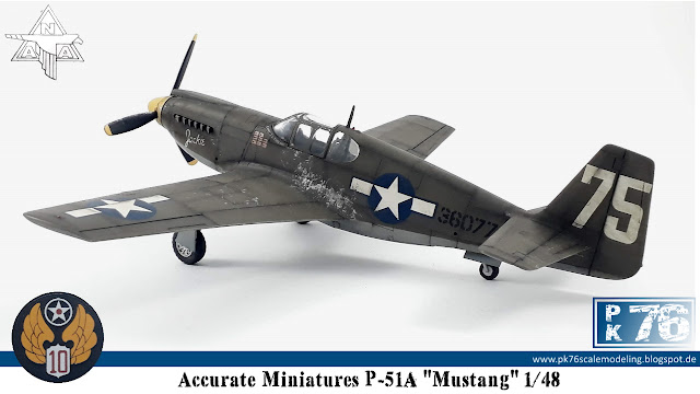 Accurate Miniatures P51A Mustang