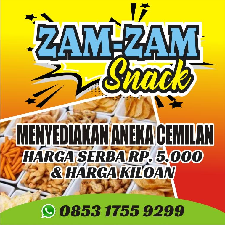 Download Contoh Spanduk Snack.cdr - KARYAKU