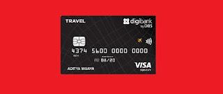 Kartu Kredit DBS Visa Travel Signature