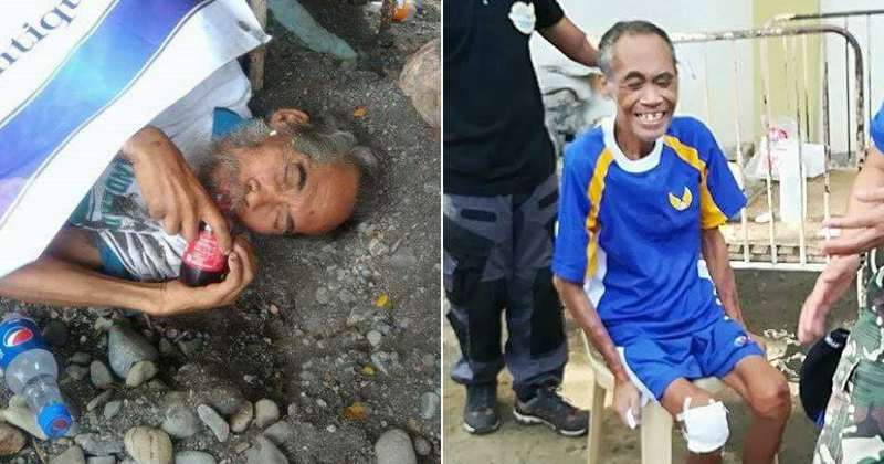 LOOK: Retired Soldier Who Was Abandoned By His Family Finds Help Through Social Media