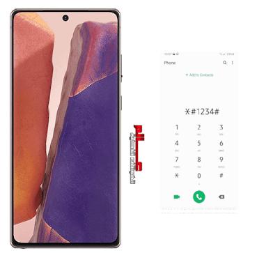 اكواد سامسونج جالاكسي samsung Galaxy Note 20