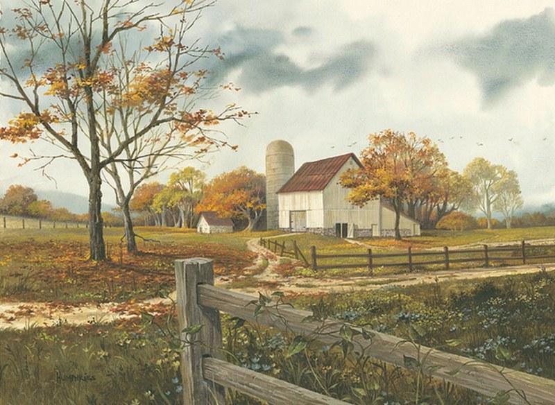 Wallpaper Fall Farmhouse Cuadros Modernos Pinturas Y Dibujos Paisajes Campestres