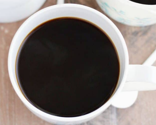 3 Ingredient Dairy Free Coffee Creamer #coffee #party #drink #easy #cocktail