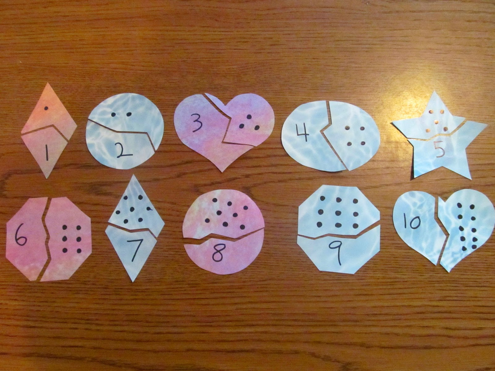 Homemade Happiness Homegrown Treasures And Homeschooling Numbers Recognition And Counting
