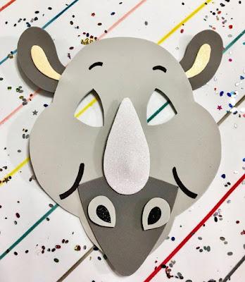 Máscara de rinoceronte
