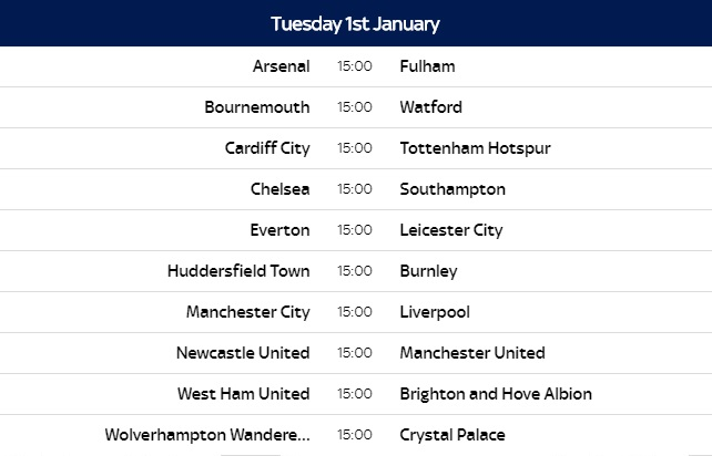 English Fa And Premier League Has Announced The Release Date Of Premier League 2018 19 Season Fixtures Which Will Be On Wednesday 13th June 2018