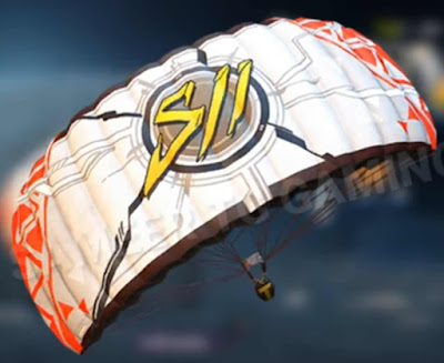 Pubg Mobile Season 11parachute skin