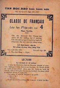 Lớp Học Pháp Văn Tập 4 - Phạm Tất Đắc