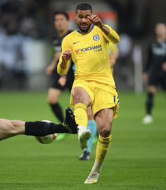 Eintracht Frankfurt 1 Chelsea 1 - Rubey Thursday.