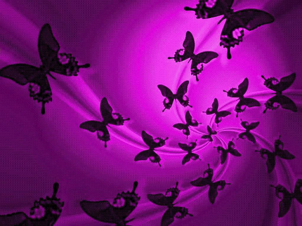 butterfly background - photo #34