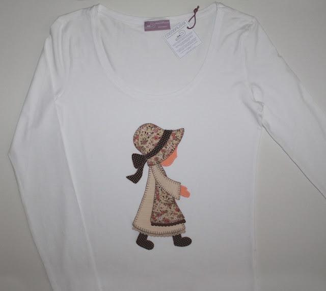 camiseta muñeca antigua