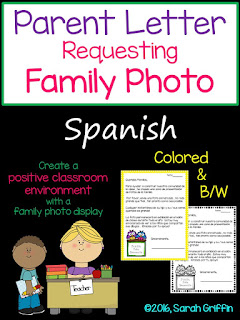 https://www.teacherspayteachers.com/Product/Spanish-Parent-Letter-Requesting-Family-Photo-2740339