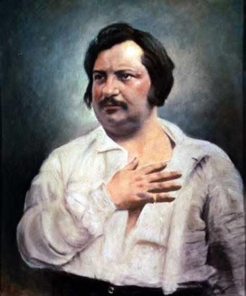 Портрет Оноре де Бальзака написан в 1842 году художником Louis-Auguste Bisson