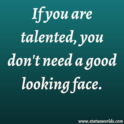 Talent Captions, Status And Quotes