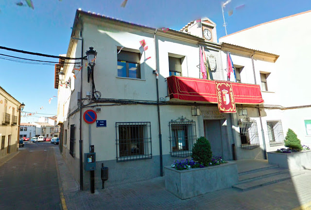 Fachada del local municipal antiguo ayuntmaiento de Illescas