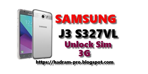 فك شفرة وتعريب هاتف J3 SM-S327VL مع الثري جي مجانا