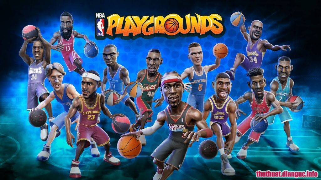 Download Game NBA Playgrounds Full Cr@ck