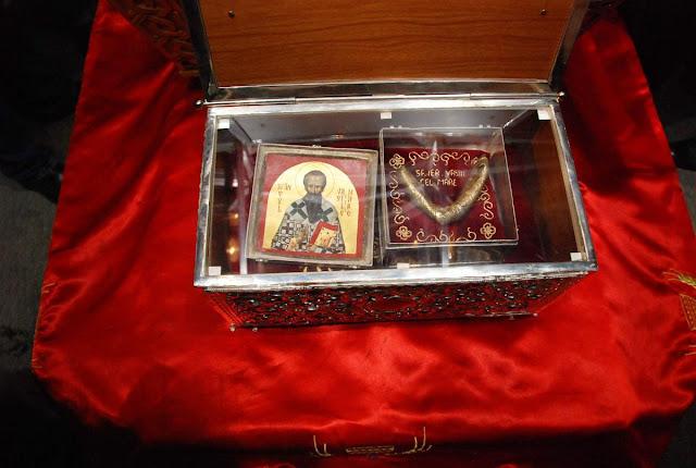 Λείψανο του Μεγάλου Βασιλείου στο Ιάσιο της Ρουμανίας https://leipsanothiki.blogspot.be/