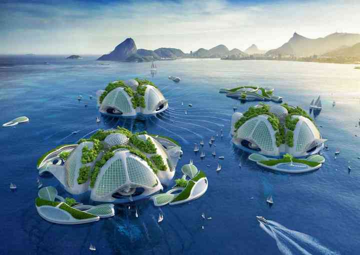 Aequorea, floating city