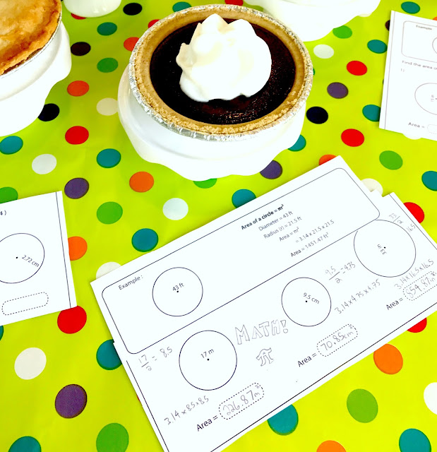 Pudding pie and math fun for Pi Day @michellepaigeblogs.com