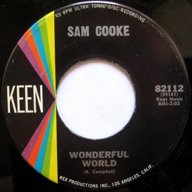 Wonderful world. Sam Cooke
