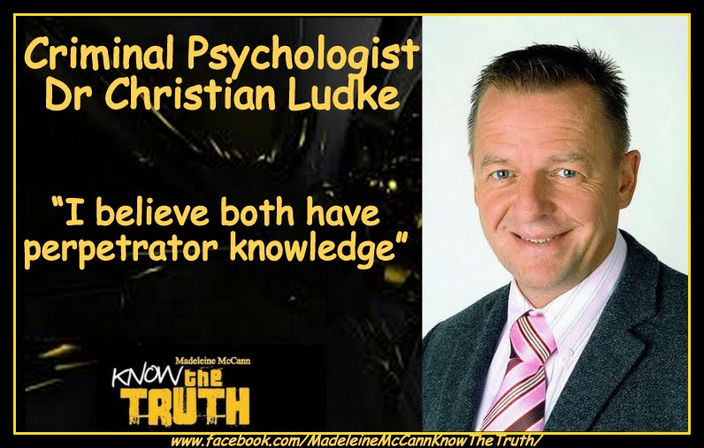 Here is an interview with criminal psychologist Dr Christian Ludke