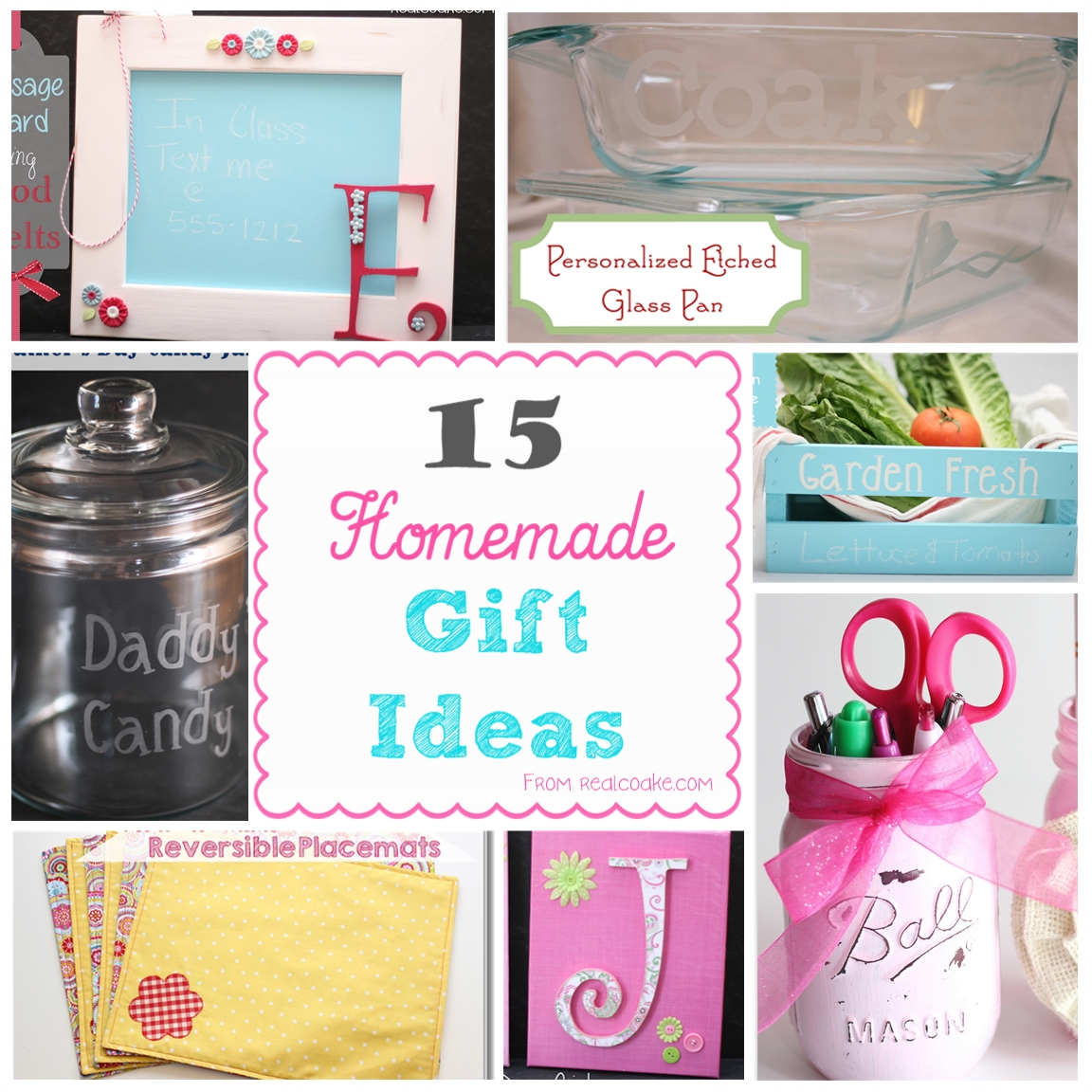 Homemade Gift Ideas: The Real Thing With The Coake Family