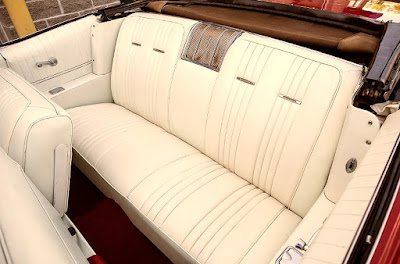 1965 Pontiac Bonneville Convertible Seat Rear