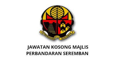Jawatan Kosong Majlis Perbandaran Seremban 2019