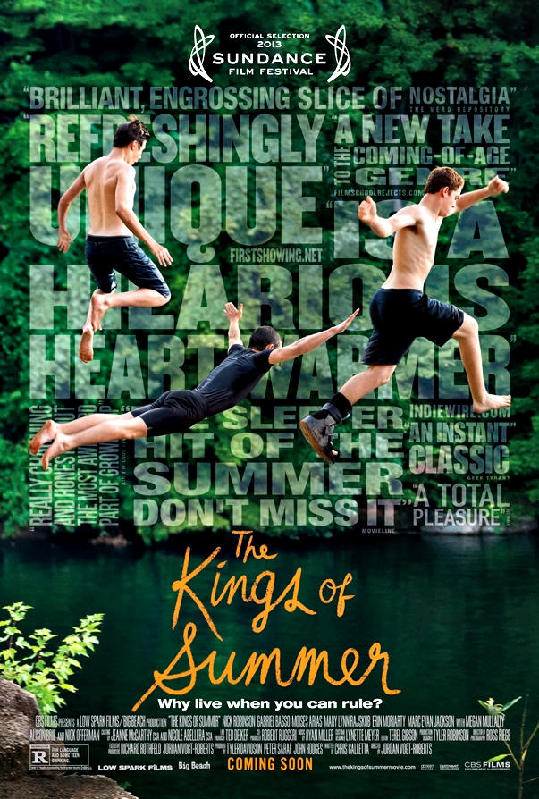The Kings of Summer póster
