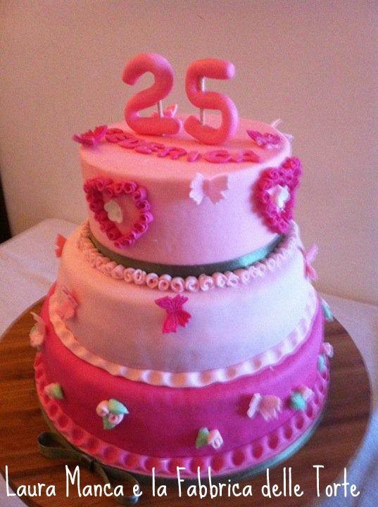 Torta Compleanno Laura.Acqua E Farina Sississima Torta Di Compleanno Rosa