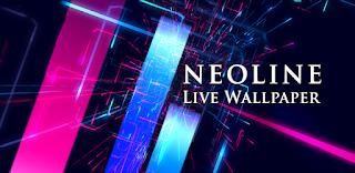 aplikasi live wallpaper Neonline