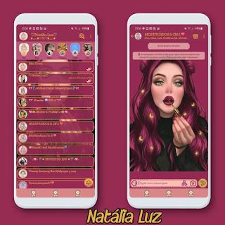 Lady Girl Theme For YOWhatsApp & KM WhatsApp By Natalia Luz