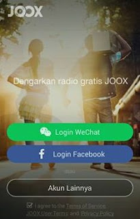 login joox music