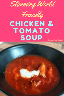 Slimming world chicken tomato soup recipe