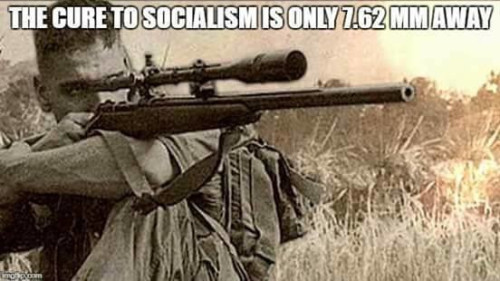"Image result for ""Would that all liberals had but a single center of mass... that I might double-tap it.  Wait, screw that noise, empty the mag into them."""