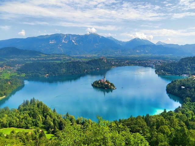 Lake Bled, Interrail, Slovenia