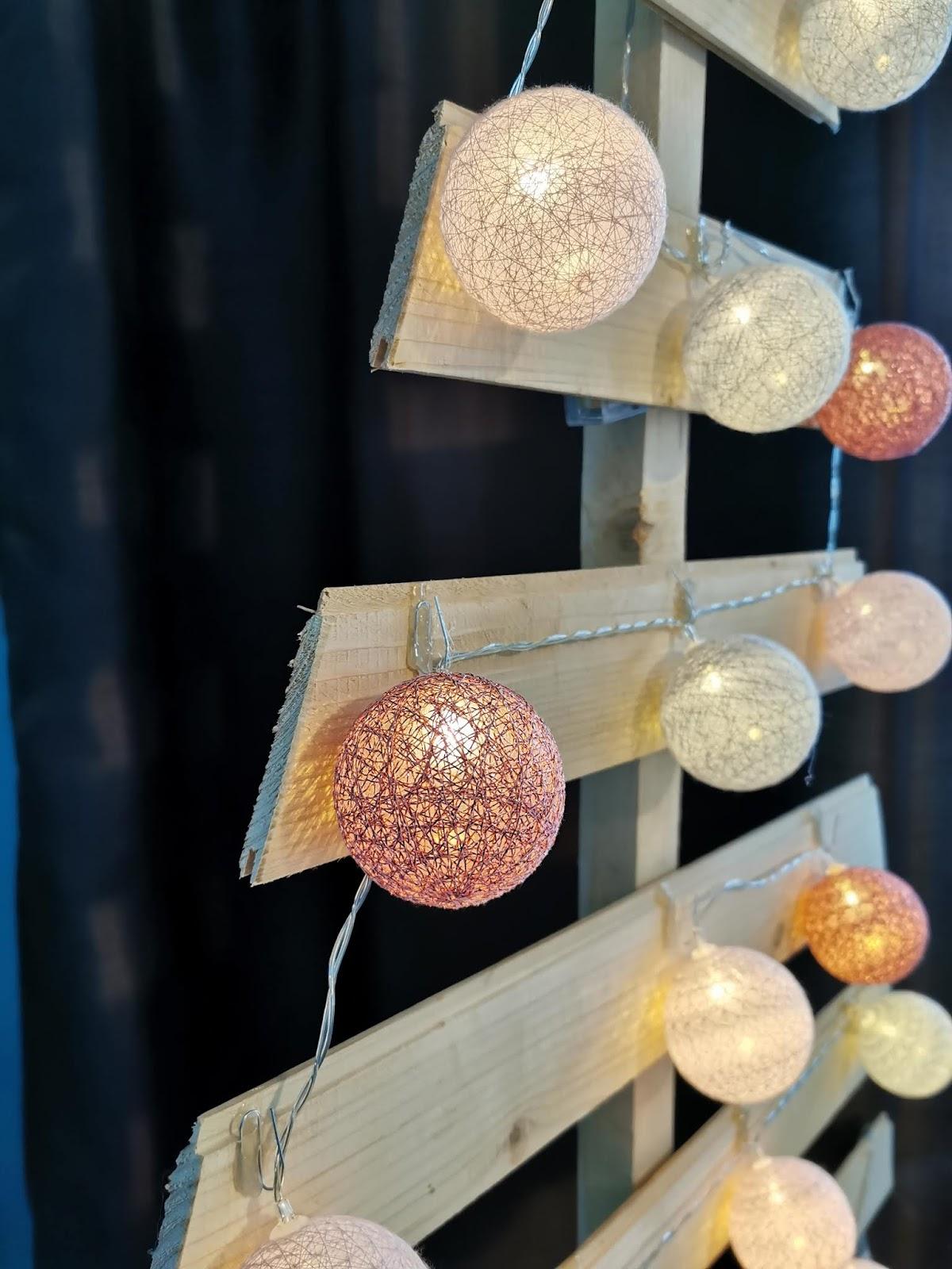 dekoracje z resztek drewna