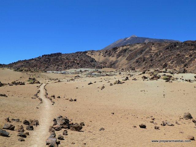 rutas de senderismo por el Teide