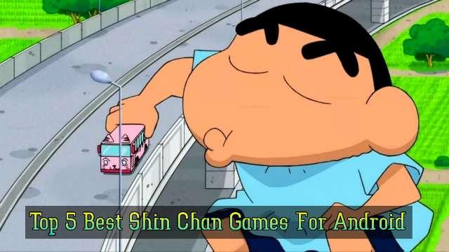 Shin Chan Games